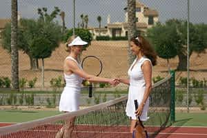 Tenis y pedal
