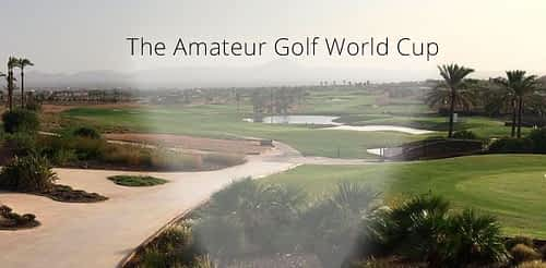 La final internacional de The Amateur Golf World Cup (AGWC)