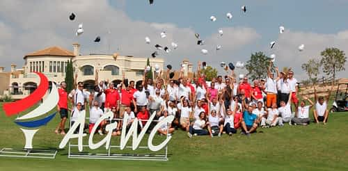 We share moments of The Amateur Golf World Cup (AGWC)